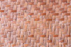 Texture of bamboo handicraft detail Royalty Free Stock Images