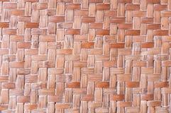 Texture of bamboo handicraft detail Royalty Free Stock Photos