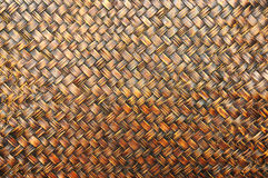 Texture of Bamboo wall Royalty Free Stock Photos
