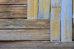 Texture of bamboo wall background Royalty Free Stock Photos