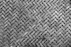 Texture of bamboo weave Royalty Free Stock Image