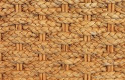 Texture of bamboo weave chair Stock Photos