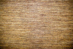 Texture of bamboo. Yellow bamboo texture with horizontal stripes Stock Photo