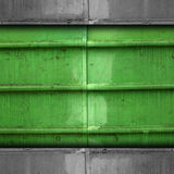 Texture band green background metal rust rusty Royalty Free Stock Images