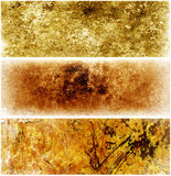 Texture Banners Royalty Free Stock Photos