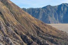 Texture of Batok mountain. Indonesia Stock Image