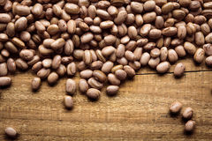 Texture of beans. Brazilian bean texture with space for text Royalty Free Stock Photos