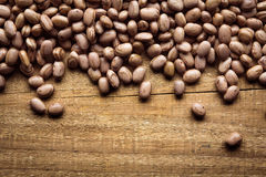 Texture of beans. Brazilian bean texture with space for text Stock Photos
