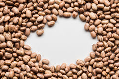 Texture of beans. Brazilian bean texture with space for text Stock Images