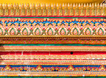 Texture  beautiful Buddha statue. Royalty Free Stock Photos