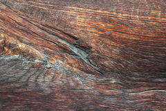 Texture of beautiful old oak plank Stock Images