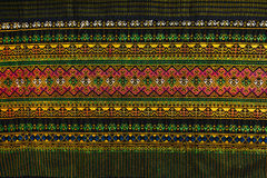 Texture beautiful of thai pattern craftsmanship Stock Photography