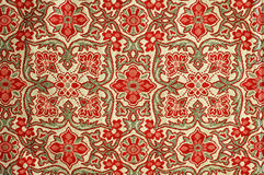 Texture of bed cover. Texture of thai bed cover Royalty Free Stock Photo