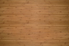 Texture of beige bamboo. Wooden planks Royalty Free Stock Image
