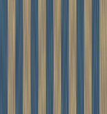 Texture beige and blue striped wallpaper. Royalty Free Stock Photo