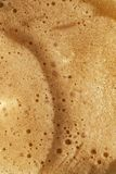 Texture of beige coffee foam Stock Photo