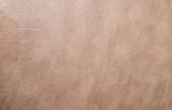 Texture beige de cuir de couleur images stock