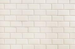 Texture beige de fond de mur de briques Photo libre de droits