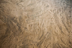 Texture of beige  decorative plaster background Royalty Free Stock Photos