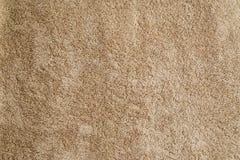 Texture beige des serviettes éponge Image libre de droits