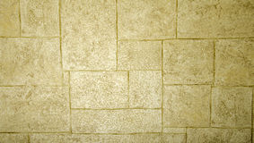 Texture beige rectangles of different sizes. Royalty Free Stock Photo