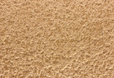 Texture of beige suede. The texture of light beige suede terrycloth closeup Royalty Free Stock Images