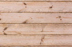 Texture of birch plank. With wood pattern and knots on wall paneling Stock Photo