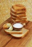 Texture, blé, pain, nourriture Photographie stock