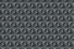 Texture in Black and Anthracite. Black and anhtracite texture composed of symmetrical triangles royalty free illustration