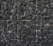 Texture of black brick Stock Image