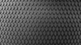 Texture of black Diamond shape rubber in black colour Royalty Free Stock Photo