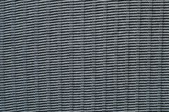 Texture of Black and White Cotton Fabric. Stock Photos