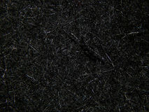 Texture of black felt material for the boots felt boots Royalty Free Stock Image