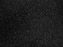 Texture of black felt material for the boots felt boots Stock Photography