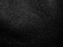 Texture of black felt material for the boots felt boots Royalty Free Stock Photo