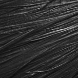 Texture of black fibers Royalty Free Stock Photos
