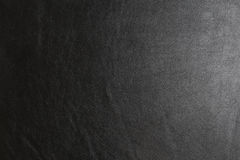 Texture of black genuine leather. For background or graphic resources Royalty Free Stock Image