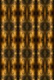 The texture of black gold. Abstract fractal. Fractal art background for creative design. Decoration for wallpaper desktop, poster, cover booklet, card, banner Royalty Free Stock Images