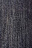 Texture of black jeans background Royalty Free Stock Photo