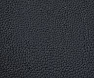 Texture of black leather stock photos