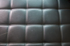 Texture Black leather Stock Photography