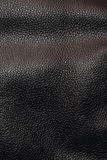 Texture black leather. Background of texture black leather Stock Photos
