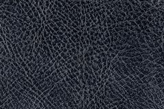 Texture of the black leather. Background, abstract Stock Images