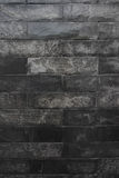 Texture of black marble wall Stock Photo