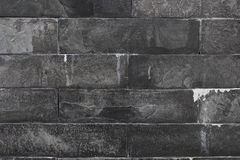Texture of black marble wall Stock Image
