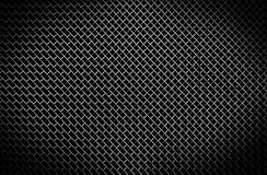 Texture of a black metal grill Royalty Free Stock Photos