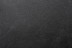 Texture of black pvc leather. Royalty Free Stock Image