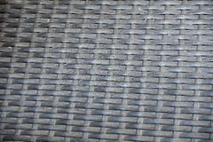 Texture of black rattan Royalty Free Stock Photo