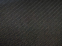 Texture Black Rubber ZigZag Line Stock Photography