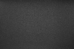 Texture of  black sandpaper Royalty Free Stock Images